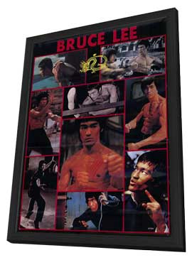 Bruce Lee - 11 x 17 Movie Poster - Style A - in Deluxe Wood Frame