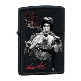 Bruce Lee - The Dragon Black Matte Zippo Lighter