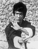 Bruce Lee - Bruce Lee Hands Posed in Kung Fu Action