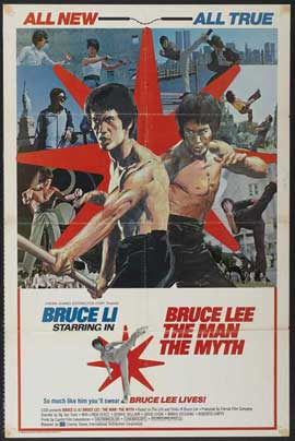 Bruce Lee: The Man, the Myth - 11 x 17 Movie Poster - Style A
