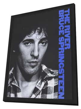 Bruce Springsteen & the E Street Band - 11 x 17 Music Poster - Style A - in Deluxe Wood Frame