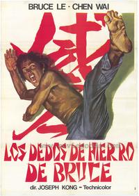 Bruce's Deadly Fingers - 27 x 40 Movie Poster - Spanish Style A
