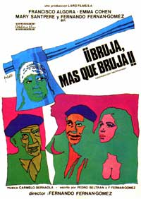 Bruja, mas que bruja - 11 x 17 Movie Poster - Spanish Style A