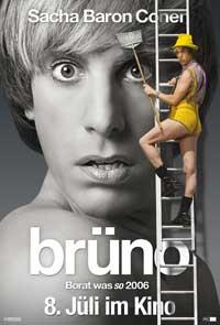 Bruno - 11 x 17 Movie Poster - German Style C
