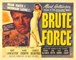 Brute Force - 11 x 14 Movie Poster - Style B