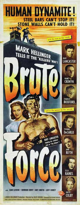 Brute Force - 14 x 36 Movie Poster - Insert Style C