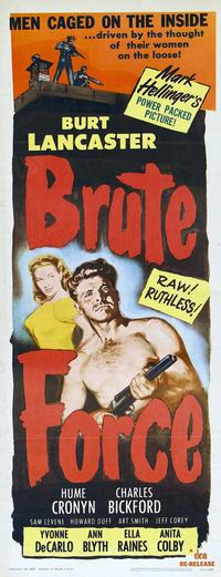 Brute Force - 14 x 36 Movie Poster - Insert Style D