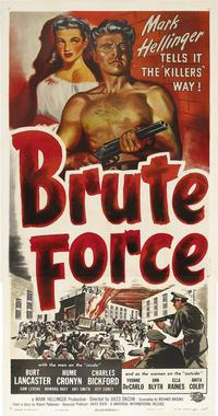 Brute Force - 14 x 36 Movie Poster - Insert Style B