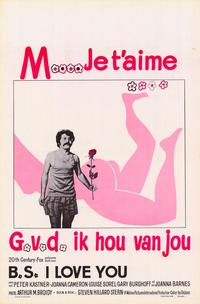 BS I Love You - 27 x 40 Movie Poster - Belgian Style A