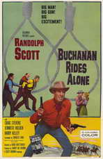 Buchanan Rides Alone - 11 x 17 Movie Poster - Style A