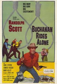 Buchanan Rides Alone - 27 x 40 Movie Poster - Style A