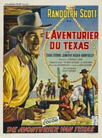 Buchanan Rides Alone - 27 x 40 Movie Poster - Belgian Style A