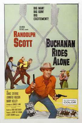 Buchanan Rides Alone - 27 x 40 Movie Poster - Style C