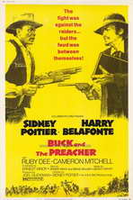 Buck and the Preacher - 27 x 40 Movie Poster - Style A