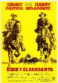Buck and the Preacher - 11 x 17 Movie Poster - Spanish Style B