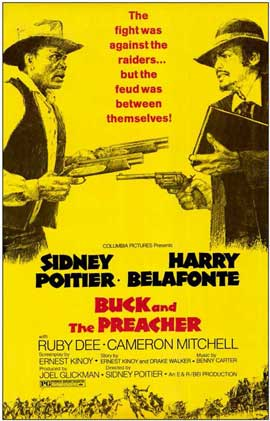 Buck and the Preacher - 11 x 17 Movie Poster - Style A