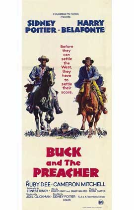 Buck and the Preacher - 11 x 17 Movie Poster - Style B