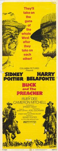 Buck and the Preacher - 11 x 17 Movie Poster - Style C