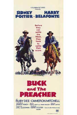 Buck and the Preacher - 27 x 40 Movie Poster - Style B