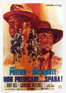 Buck and the Preacher - 11 x 17 Movie Poster - Italian Style A