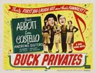 Buck Privates - 22 x 28 Movie Poster - Half Sheet Style A