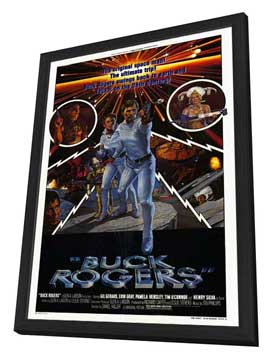 Buck Rogers in the 25th Century (TV) - 11 x 17 Movie Poster - Style B - in Deluxe Wood Frame