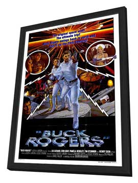 Buck Rogers in the 25th Century (TV) - 27 x 40 Movie Poster - Style A - in Deluxe Wood Frame