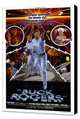 Buck Rogers in the 25th Century (TV) - 27 x 40 Movie Poster - Style A - Museum Wrapped Canvas