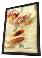 Buck Rogers - 27 x 40 Movie Poster - Style A - in Deluxe Wood Frame