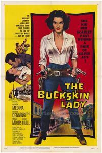 Buckskin Lady - 27 x 40 Movie Poster - Style A