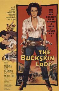 Buckskin Lady - 11 x 17 Movie Poster - Style B