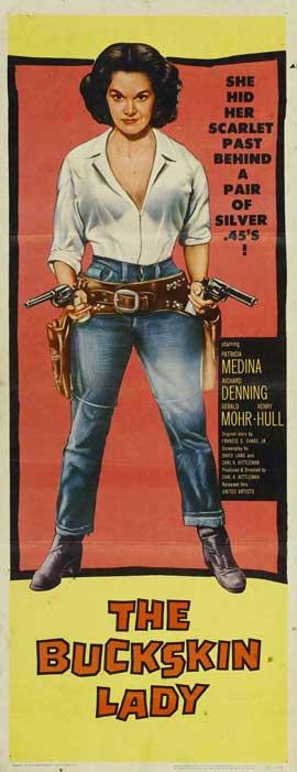 Buckskin Lady - 14 x 36 Movie Poster - Insert Style A