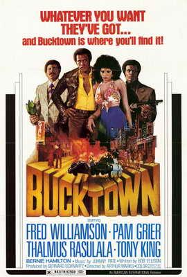 Bucktown - 27 x 40 Movie Poster - Style A