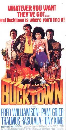 Bucktown - 11 x 17 Movie Poster - Style B