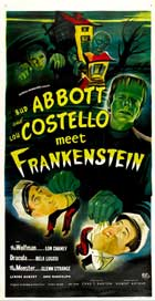Bud Abbott and Lou Costello Meet Frankenstein - 11 x 17 Movie Poster - Style A