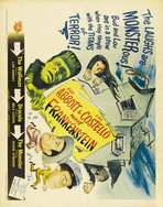 Bud Abbott Lou Costello Meet Frankenstein - 11 x 17 Movie Poster - Style C