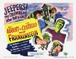 Bud Abbott Lou Costello Meet Frankenstein - 11 x 14 Movie Poster - Style A