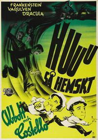 Bud Abbott Lou Costello Meet Frankenstein - 11 x 17 Movie Poster - Style A