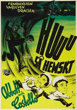 Bud Abbott Lou Costello Meet Frankenstein - 27 x 40 Movie Poster - Style A