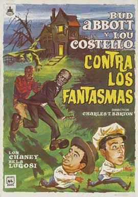 Bud Abbott Lou Costello Meet Frankenstein - 11 x 17 Movie Poster - Spanish Style A