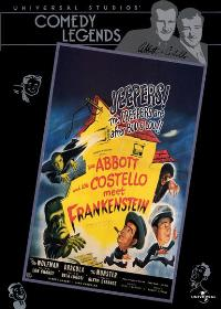 Bud Abbott Lou Costello Meet Frankenstein - 11 x 17 Movie Poster - Style D