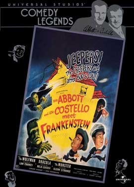 Bud Abbott Lou Costello Meet Frankenstein - 27 x 40 Movie Poster - Style D