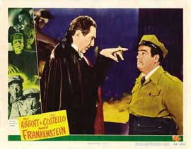 Bud Abbott Lou Costello Meet Frankenstein - 11 x 14 Movie Poster - Style B