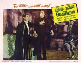 Bud Abbott Lou Costello Meet Frankenstein - 11 x 14 Movie Poster - Style C