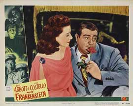 Bud Abbott Lou Costello Meet Frankenstein - 11 x 14 Movie Poster - Style K