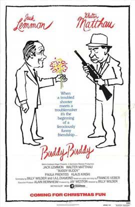Buddy Buddy - 11 x 17 Movie Poster - Style B