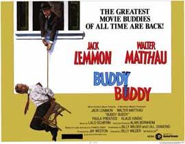 Buddy Buddy - 11 x 14 Movie Poster - Style A