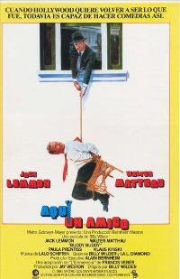 Buddy Buddy - 11 x 17 Movie Poster - Spanish Style A