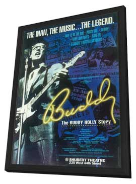 Buddy (Broadway) - 11 x 17 Poster - Style A - in Deluxe Wood Frame