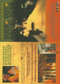 Buena Vista Social Club - 11 x 17 Movie Poster - Style B